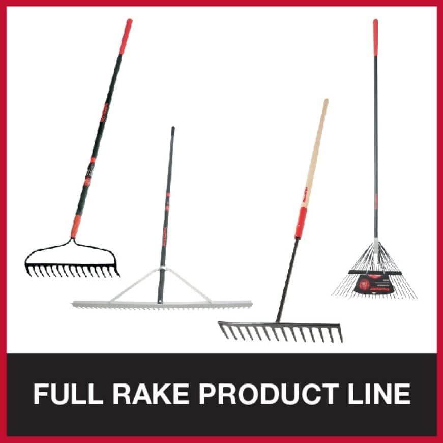 View the Razor-Back rake collection