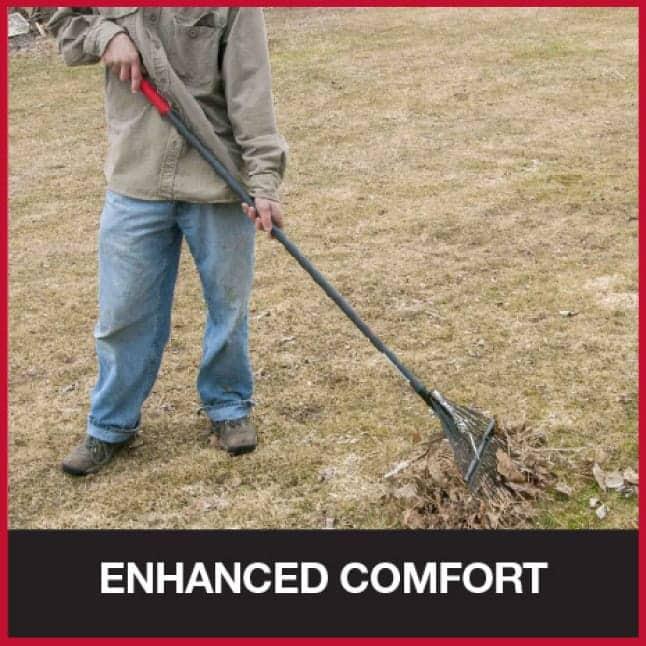 Grips offer comfort