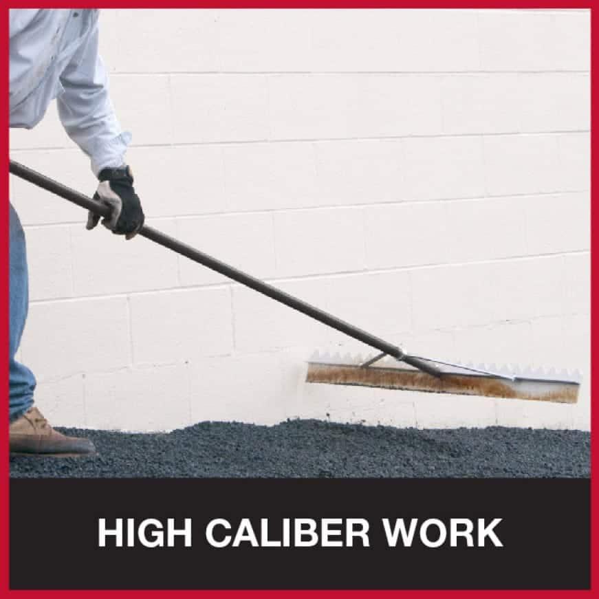 Professional rakes for tough jobs