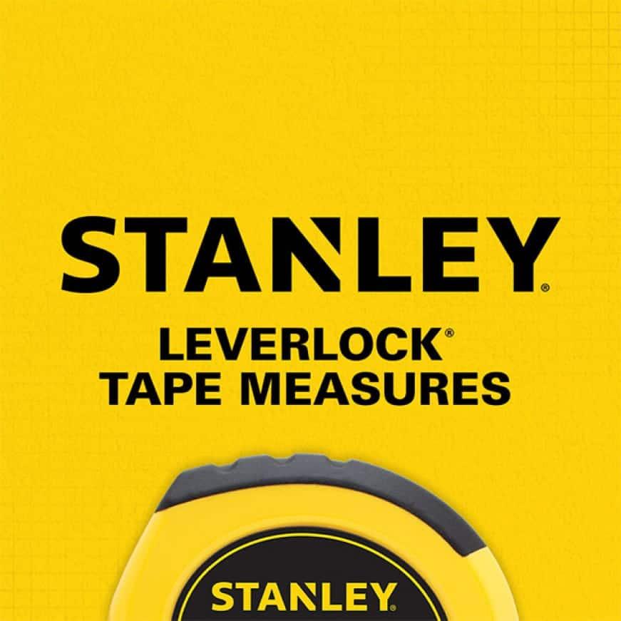 204624317 STHT30758L LeverLock 25 ft. x 1 in. CC Center Tape Measure