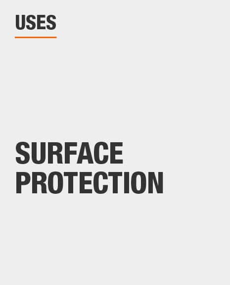 cover furniture and floors to protect from paint drips and spills