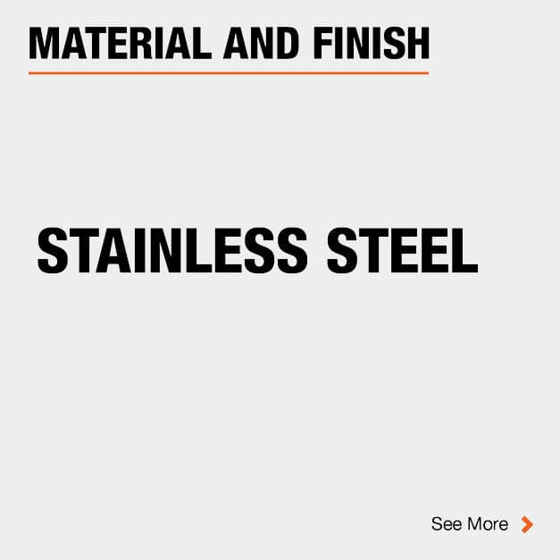 Door Hinge Stainless Steel Material and Finish