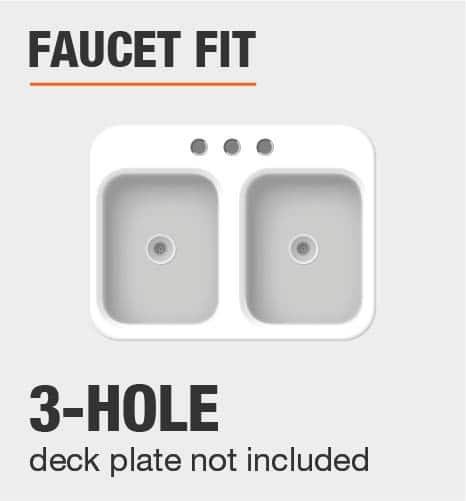 Faucet Fit 3 Hole