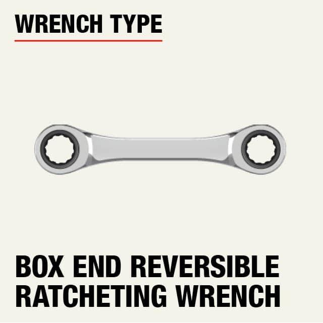 SAE Quad Drive Ratcheting Wrench Set