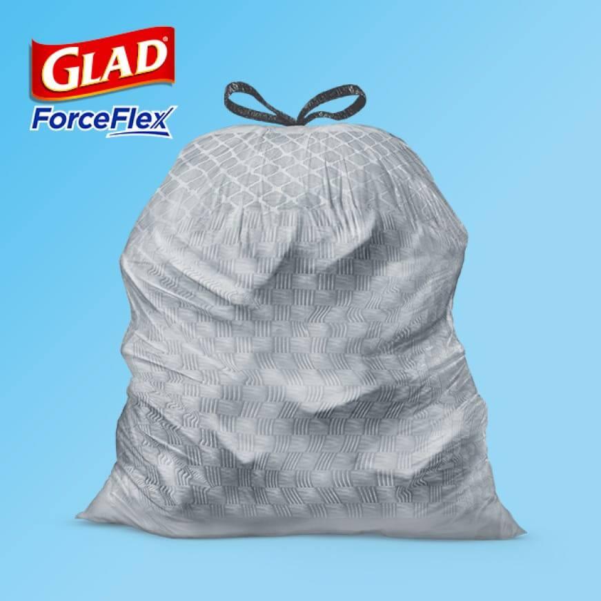 Glad ForceFlex Technology.