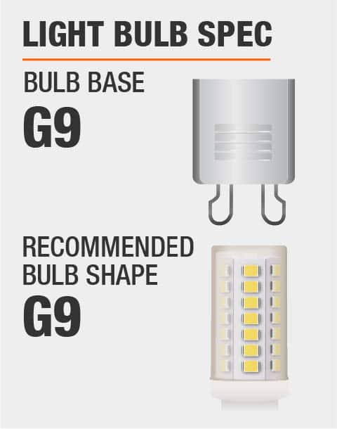 G9 Base G9 Bulb Recommended