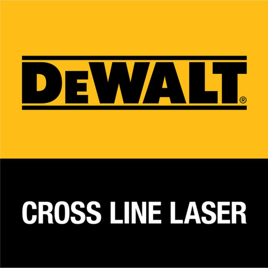 DW088K-QUW0881T 165 ft. Red Self-Leveling Cross-Line Laser Level with Bonus Adjustable and Portable Laser Level Tripod