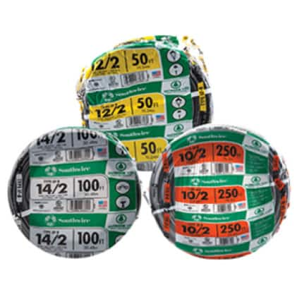 Southwire Underground-Feeder (UF-B) Building Wire and Cable Assortment