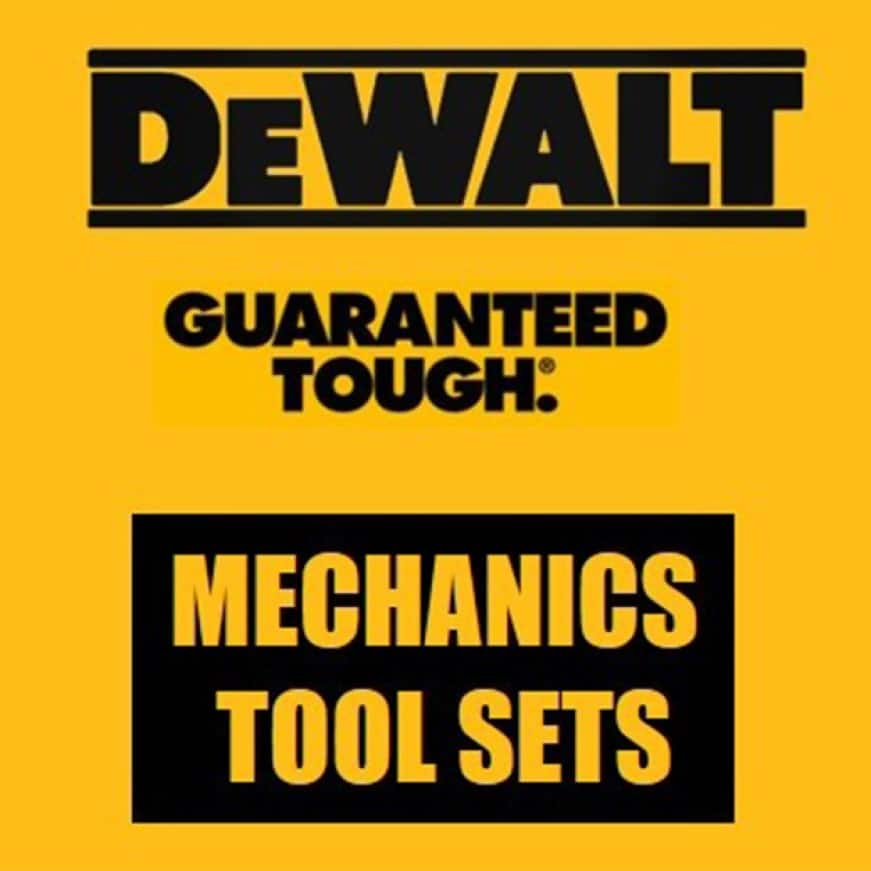 DWMT72165 1/4 in., 3/8 in., and 1/2 in. Mechanics Tool Set (204-Piece)