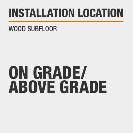 On Grade/Above Grade with Wood Subfloor