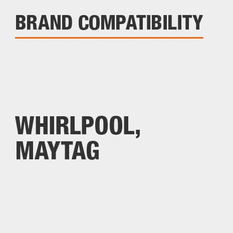 Replacement for select Whirlpool, Maytag branded refrigerators