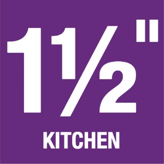 "1-1/2"" Kitchen"