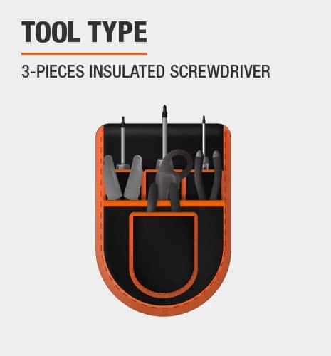 3 pc Tool Set