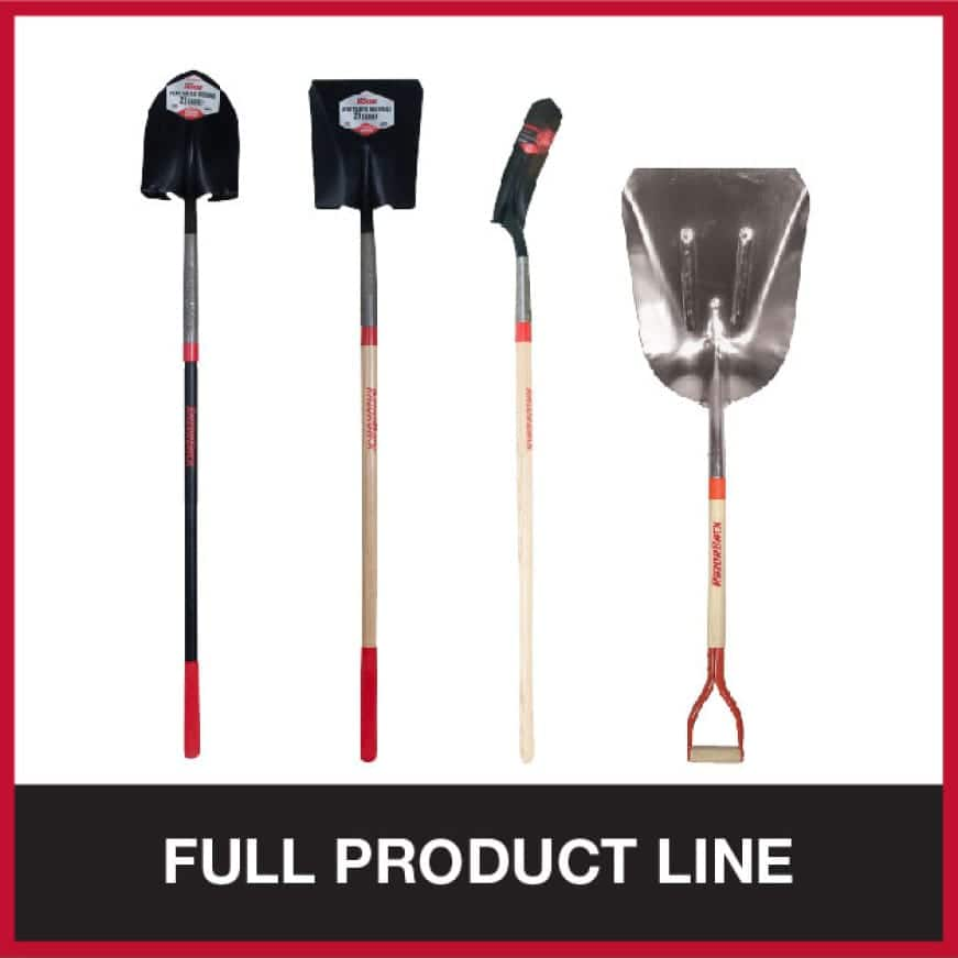 View the Razor-Back shovel collection