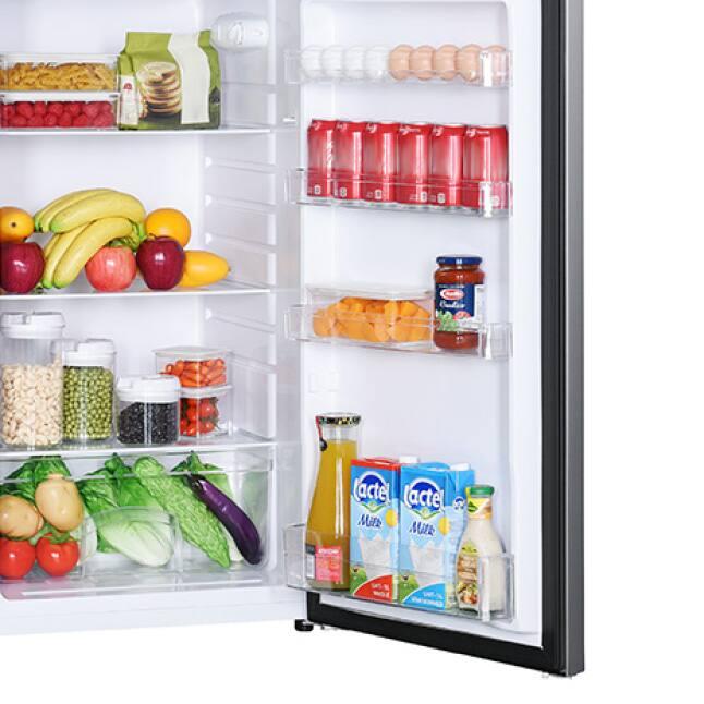 In-door storage maximizes space