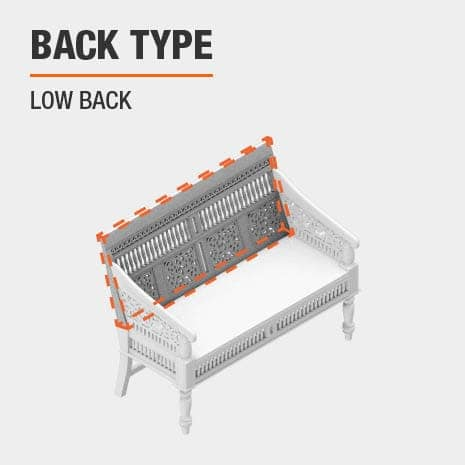 product back type low back