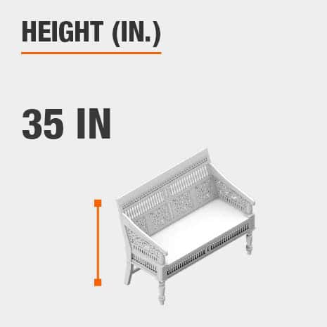 Height 34.5 inches