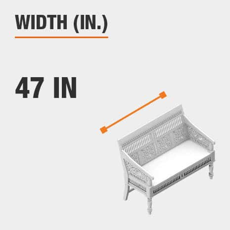 Width 46.5 inches
