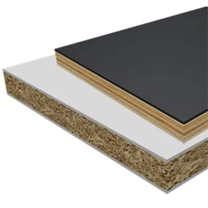 This is an image of laminate, melamine, and veneered plywood material applications.