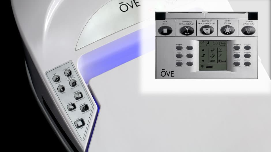 Smart toilet remote control