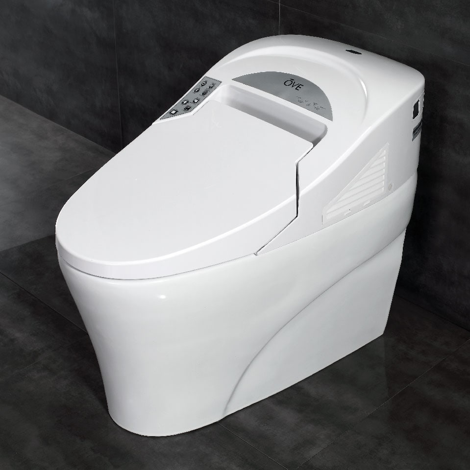 Smart toilet overall view