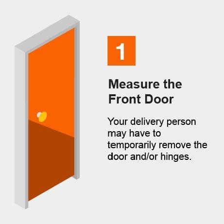 Measure the Front Door