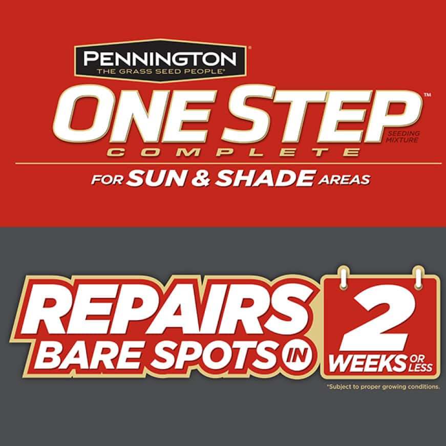 Pennington One Step Complete for Sun & Shade Areas