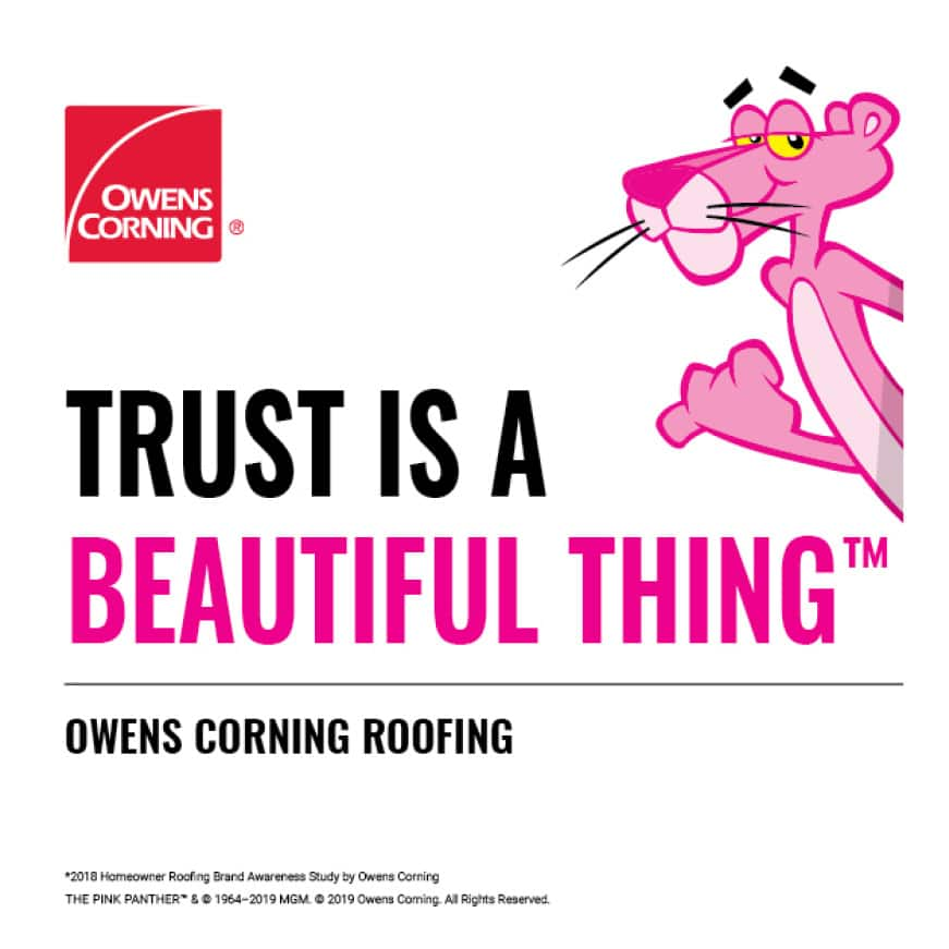 Owens Corning The Pink Panther Trust is a Beautiful Thing