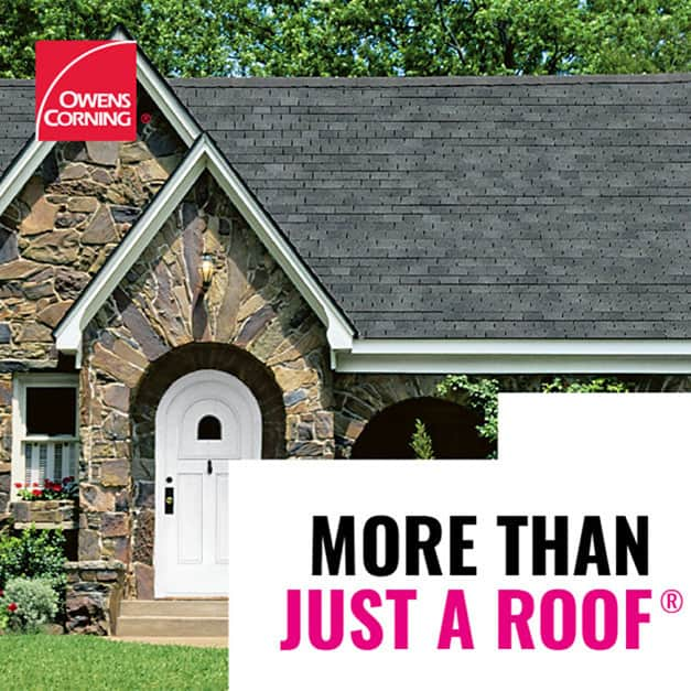 Owens Corning roof beauty shot