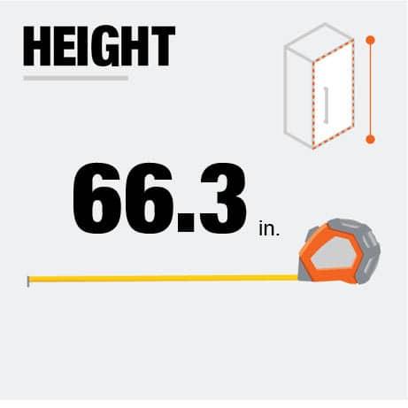 Fridge Height
