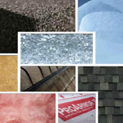 various Owens Corning Products