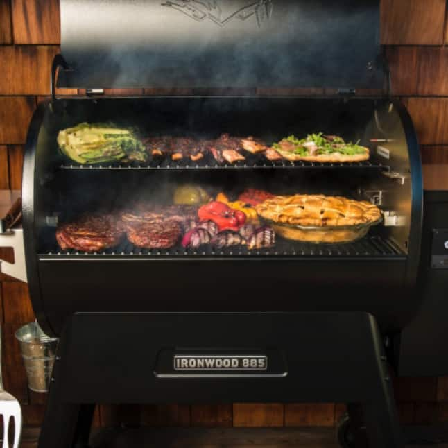 Traeger Grills - Right flavor for the job