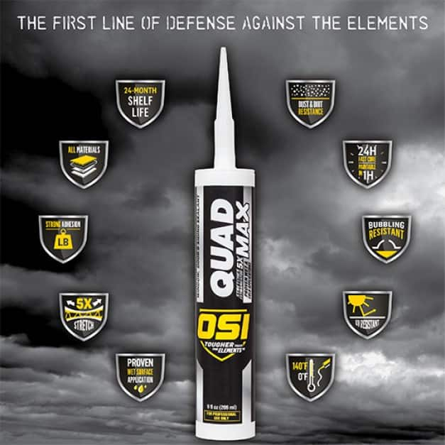 QUAD MAX is the next generation of exterior sealants