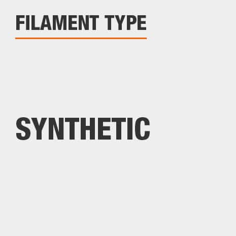 Synthetic filament or bristles