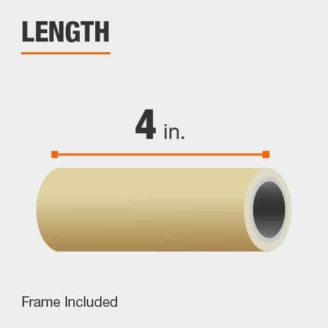 roller cover length