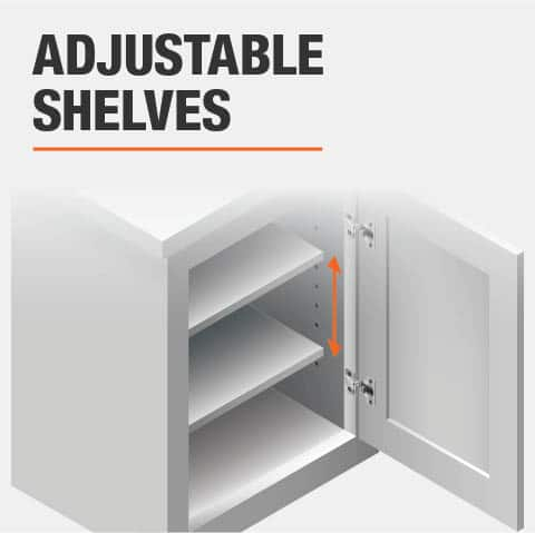 Product feature, Adjustable shelves