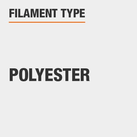 Polyester filament or bristles