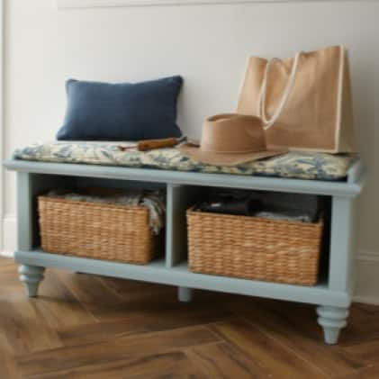 No need to spend money buying new furniture thanks to a quick paint refresh