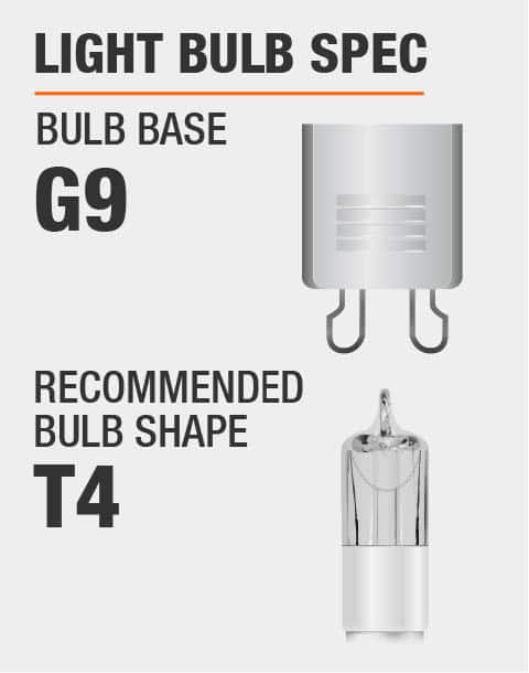 G9 Base T4 Bulb Recommended