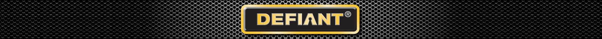 Defiant brand banner