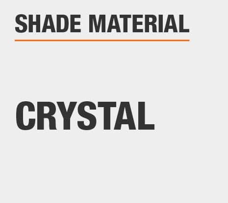 Product Shade Material: Crystal