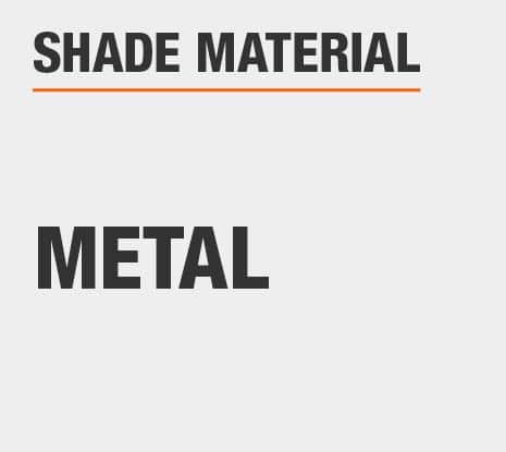 Product Shade Material: Metal