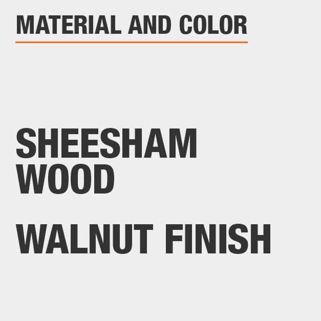 Walnut Finish Sheesham Wood Coffee Table