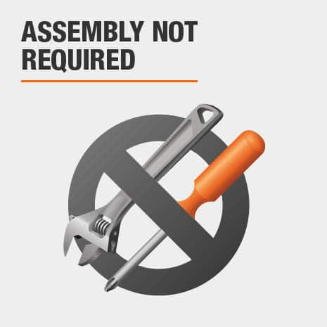 No assembly is required.