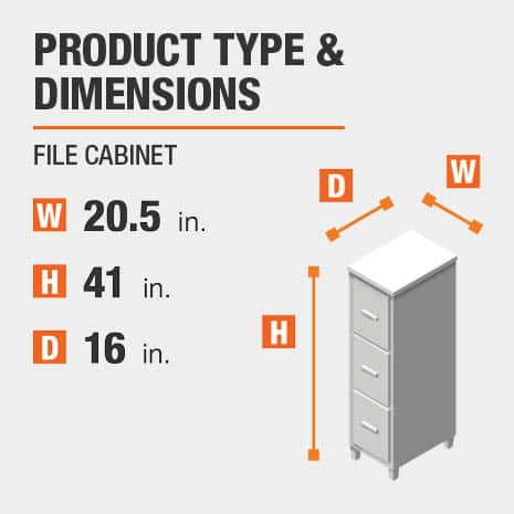 File Cabinet Product Dimensions 20.5 inches wide 41 inches high