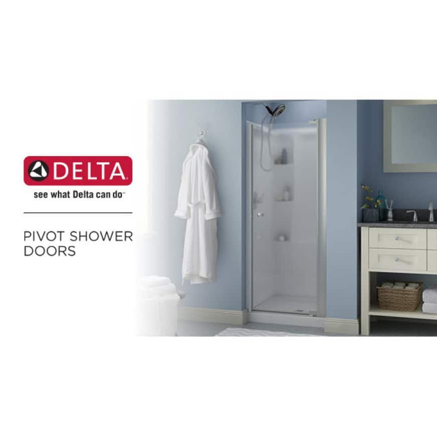 Delta Pivot Shower Door