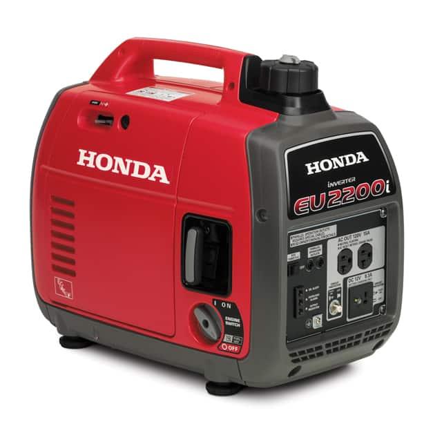 Side view of Honda EU2200 Generator