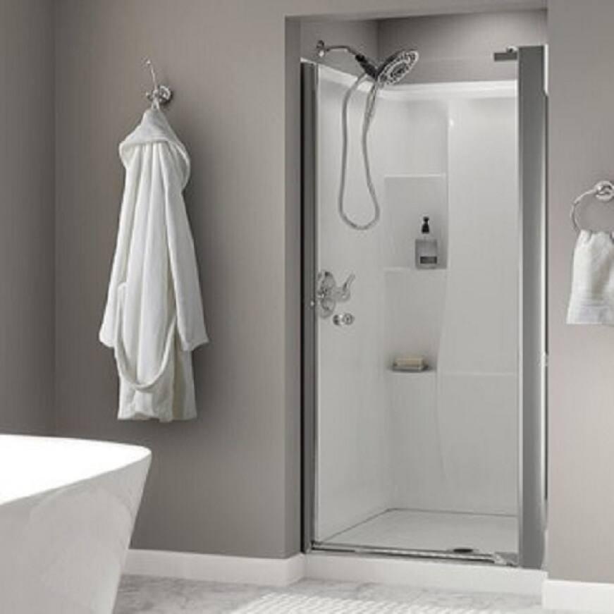 Delta pivot shower doors