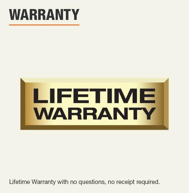 Husky Lifetime Warranty