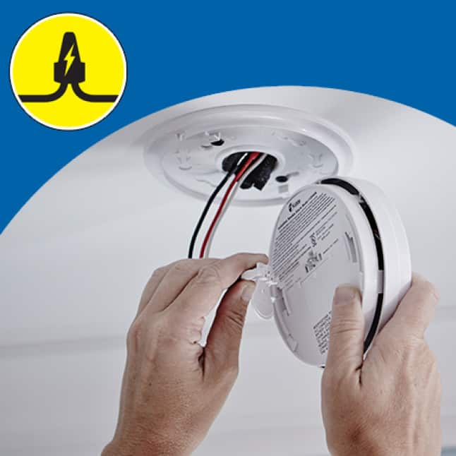 Carbon monoxide alarms run on your home's electricity, battery backup during outages